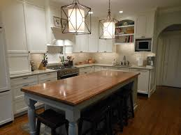 Kitchen Island Table With Seating For 4 The Best Butcher Block
