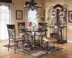 Rod Iron Kitchen Tables Round Black Wood Kitchen Table 126 Custom Luxury Dining Room