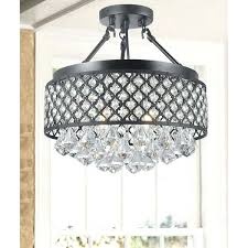 semi flush mount crystal chandelier silver orchid 4 light antique black semi flush mount crystal chandelier