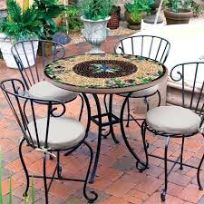 mosaic bistro table set bistro table mosaic designs mosaic tile round bistro table shown with optional mosaic bistro table set