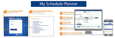 Online Course Schedule Planner Suny New Paltz Records Registration