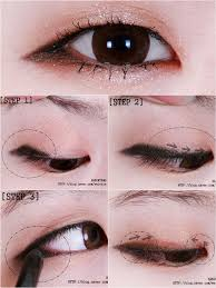lengthening your eye shape through for full tutorial source eye makeup for monolids