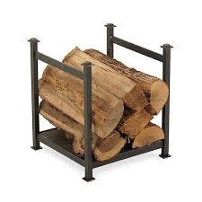 craftsman indoor firewood rack vintage iron learnenjoy