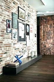 fake bricks for interior walls brick
