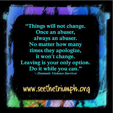 Quotes About Abuse Interesting Once An Abuser Always An Abuser See The Triumph
