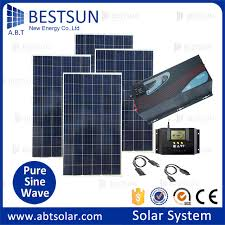 5000w solar power panel pv systems for commercial 5kw plug in diy solar panel pv kit system tile slate roof mount house