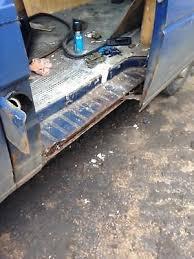 vw t4 transporter caravelle cut slide door step