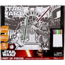Star Wars Light Up Poster Star Wars Color Your Own Light Up Poster