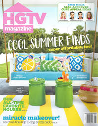 hgtv magazine 2014 furniture. HGTV Magazine Cover July/August 2017 | Modern Masters Non Fade Front Door Paint Feature Hgtv 2014 Furniture