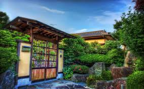 Small Picture House Gate and Garden Japanese style and House