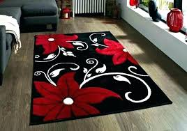 black and brown rug black and red area rug dark brown and red area rug black
