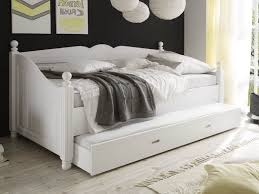 delightful white daybed with pop up trundle 0 wooden uk for wood prepare 6