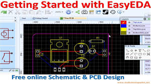 Pcb Layout Design Online Getting Started With Easyeda Free Online Schematic Pcb Design Software