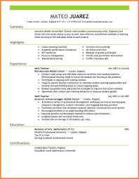 Beautiful Resume Format In Usa Images Simple Resume Office