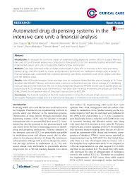 pdf automated dispensing systems in the unique automated dispensing cabinets parison