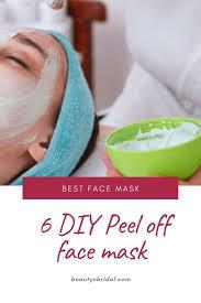 diy l off face mask without gelatin