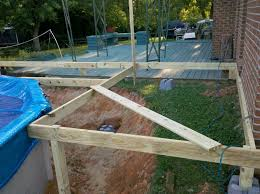 above ground pools deck plans diy above ground pool deck framing