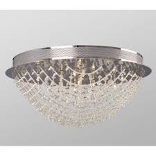 galaxy lighting 613261ch celeste collection 10 light flush mount with crystal decoration