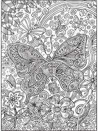 Kleurplaat Kleurplaat Voor Volwassenen Vlinder Kleurplatennl