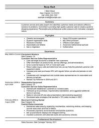 Customer Service Resume Summary Awesome Best Customer Service Representatives Resume Example LiveCareer