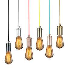 kingso edison lamp holder creative antique classic edison lamp shade ajule diy ceiling light e27 retro