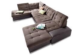 Xxl Sofa Braun Wohnlandschaft Sofa Couch Ecksofa Eckcouch