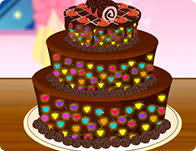 Perfect Chocolate Cake Cooking Games