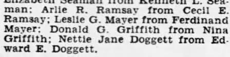 Divorce filing of Donald G Griffith and Nina Griffith. - Newspapers.com