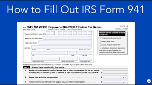 Otherwise, you must pay a penalty. How To Fill Out Irs Form 941 Simple Step By Step Instructions Youtube