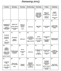 Monthly Dinner Planner A Month Of Meals On A Budget 31 Days Of Dinners For 180