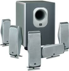 jbl home theater subwoofer. jbl scs-300.5 home theater speaker system with subwoofer, four identically matched 2- jbl subwoofer p