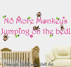 acafefaebabccdfbefdbe image of no more monkeys jumping on the bed wall art