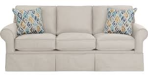 Off white sofa Cream Provincetown Linen offwhite Sofa Classic Transitional Polyester Furniturecom 69999 Provincetown Linen offwhite Sofa Classic