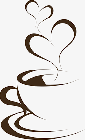 coffee clip art. Modren Clip Hand Painted Brown Coffee Cup Cup Clipart Hand Brown PNG Image And  Clipart With Coffee Clip Art