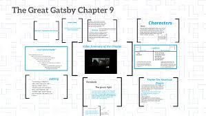 The Great Gatsby Character Chart Worksheet Answers The Great Gatsby Chapter 9 By Prezi User On Prezi