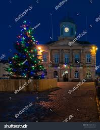 Kelso Christmas Lights Kelso Scotland Dec 14 2018 Kelso Stock Photo Edit Now