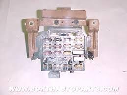used parts pontiac pontiac firebird formula parts  1987 firebird panel fuse box 25 00