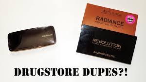 makeup revolution radiance palette vs hourglass ambient lighting palette you