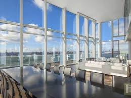 charles street curbed ny penthouse atop richard meier s glassy west village condo returns for 30m
