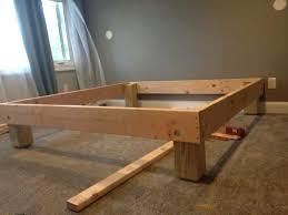 diy king size bed frame king size bed frame project diy king size bed frame dimensions