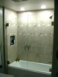 bathtub with glass doors frameless bathroom frameless hinged glass bathtub doors bathtub with glass doors