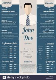 blue modern resume template new modern resume cv curriculum vitae template design in blue with