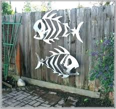 wall arts wall art outdoor metal sculptures fish sculpture home design ideas a wall