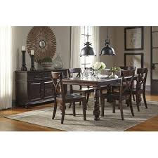extendable dining room table by signature design by ashley. signature design by ashley extendable dining table room