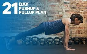 21 Day Plank Challenge Chart The 21 Day Pushup And Pullup Plan Fitness Myfitnesspal