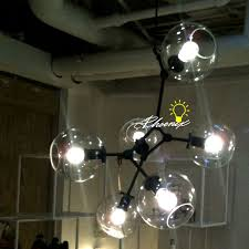 country clear glass ball chandelier 8217
