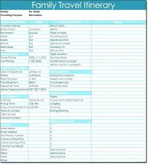 Trip Planner Template Print Easy Travel With Medium Image Excel ...