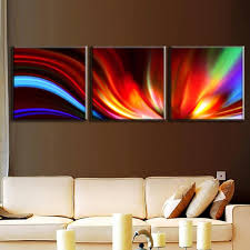3 pcs set modern abstract painting with frame canvas wall art picture colored abstract lines on colorful abstract canvas wall art with 3 pcs set modern abstract painting with frame canvas wall art