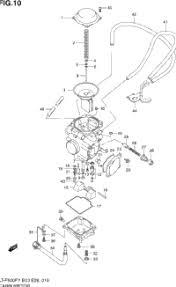 1998 suzuki quadrunner 4wd lt f500f oem parts babbitts suzuki carburetor