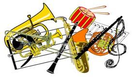 Image result for band instruments clip art